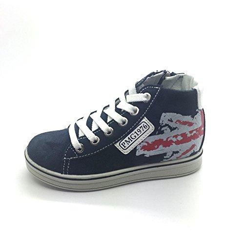 Primigi Pay 7622, Sneakers Hautes Garçon Bleu Marine