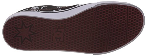 DC Shoes Trase SP - Chaussures Slip-On pour homme ADYS300185 Noir - Black/Red Print
