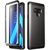 SUPCASE [UB Neo Series] Full-Body Protective Dual Layer Armor Cover Case with Built-in Screen Protector for Samsung Galaxy Note 9 (Black)