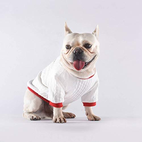 Pudel Hunde Kostüm - FGDSSE Pullover Hoodie Jacke Pudel Schnauzer Mops französische Bulldogge Kleidung Haustier Strickwaren Coogee Hund Kostüm