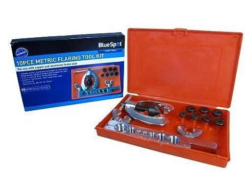 Blue Spot 22132 Metric Flaring Kit (10 Pieces)