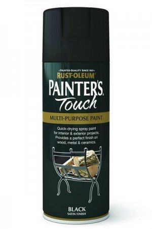 rust-oleum-painters-touch-multi-purpose-aerosol-spray-paint-400ml-black-satin-1-pack