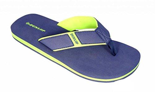 Dunlop ,  Herren T-Bar Navy - Neon Lime