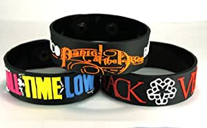 All Time Low und Black Veil Brides und Panic. At The Disco atb3di New 3(3x) Armband