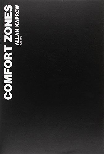 Portada del libro Allan Kaprow. Comfort Zones