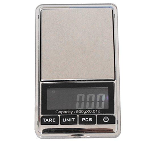WEIHENG WH-DS16 BASCULA BALANZA ESCALA DIGITAL ELECTRONICA DE JOYERIA PERLAS ORO PLATA MONEDA DE ALTA PRESICION 500G-0 01G