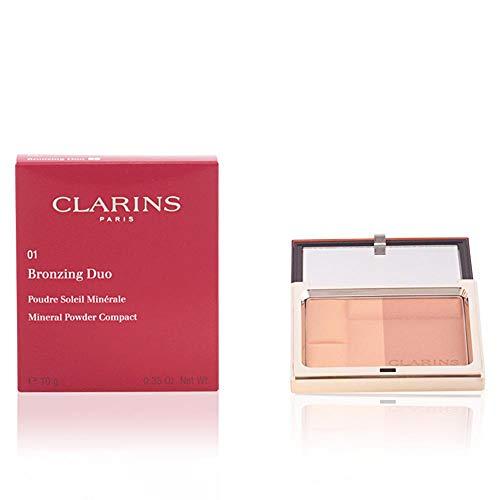Clarins Bronzing Duo Polvere, 02 Medium - 100 ml
