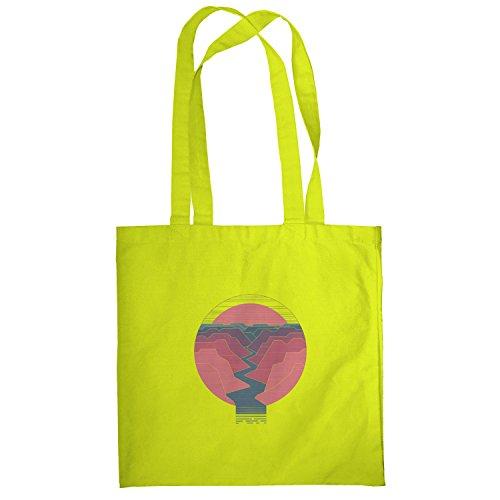 Texlab–The Canyon–sacchetto di stoffa Gelb