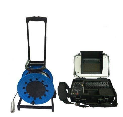 mabelstar bajo el Agua cámara con 200Metros Cable de vídeo cámara de inspección con 55mm Cabeza