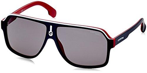 Carrera Unisex-Erwachsene 1001/S M9 BLX Sonnenbrille, Schwarz (Matt Black Ruthe Crystal Red Grey), 62
