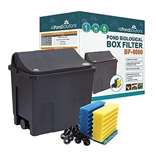 All Pond Solutions Koi/Goldfish Teichfilterbox, klein, 6000 l