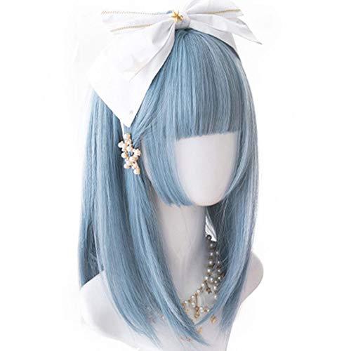 Entwerfen Sie Ihre Eigenen Halloween Kostüm - Lolita Kurze Perücke Hime Cut