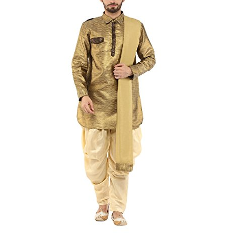 Yepme Men's Blended Pathani Suit - Ypmekurt0198-$p