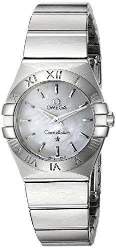 Omega 123.10.24.60.05.001constelación Mother-of-Pearl Dial reloj de la mujer por Omega