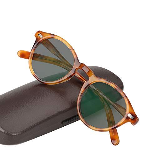 Eyetary Lesebrillen Transition Photochromic, Acetatrahmen Flachlinse Leser Sonnenbrille Männer und Frauen - UV400 / Blendschutz/Vergrößerung 0,50 bis 6,00 Stärke,Tortoiseshell,+2.5