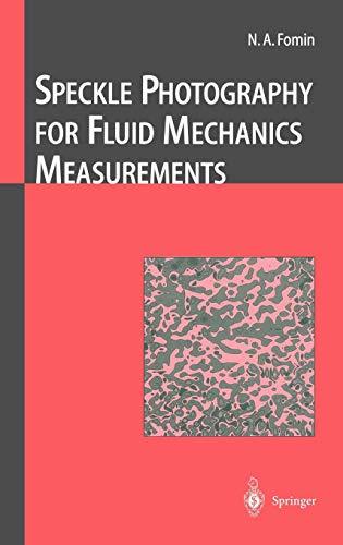 Speckle Photography for Fluid Mechanics Measurements (Experimental Fluid Mechanics)