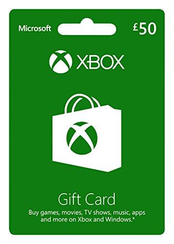 Microsoft Gift Card - GBP50 (Xbox One/360)