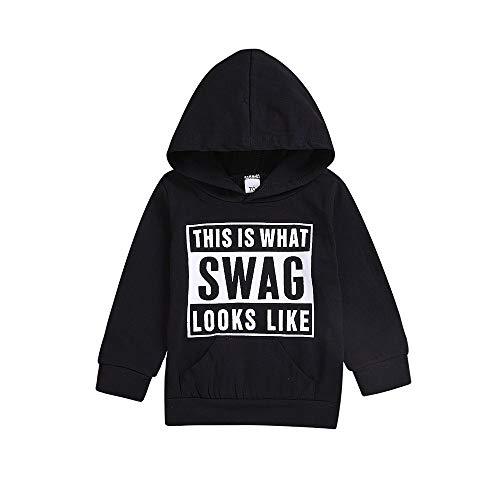 BURFLY Children Kids Boys Girls Hip-Hop Swag Streetwear Hoodie Pullover 723ad9c4422c