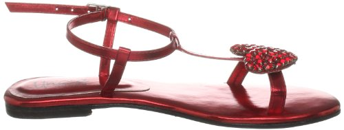 Unze Evening Sandals, Damen Sandalen Rot (L18380W)