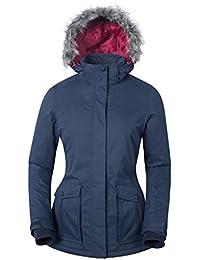 Mountain Warehouse Blouson de ski pour femmes Braddock imperméable Hiver avec Capuche