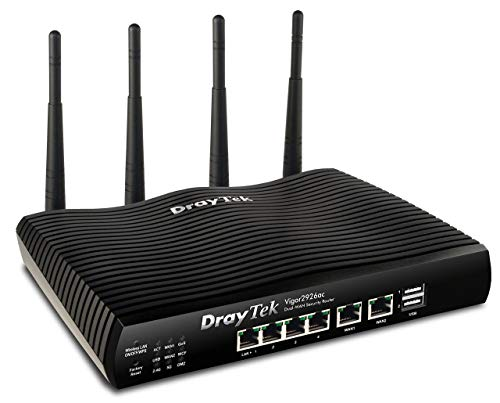 Dray tek v2926ac Vigor Dual WAN Security Router Negro