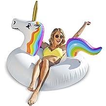GoFloats Unicornio Fiesta Tubo Inflable Flotador