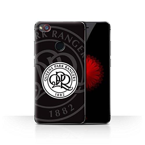 Offiziell Queens Park Rangers FC Hülle / Case für ZTE Nubia Z11 Mini / Schwarz Muster / QPR Fußball Crest Kollektion
