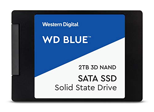 Western Digital WDS500G2B0A WD Blue 500GB  3D NAND Internal SSD 2.5'...