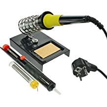 LIFE ProCir YDL01 - Kit de soldadura con soldador, soporte, desoldador y barra de