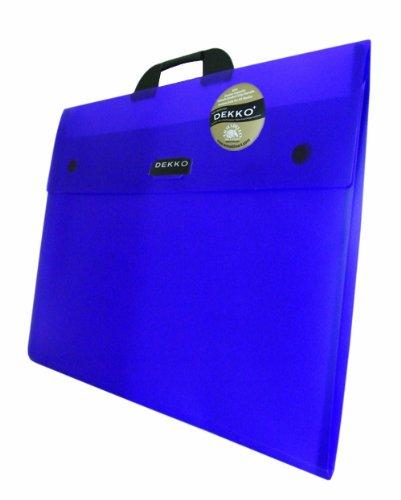 West Design DKTGA3PU Westfolio - Sammelmappe mit großer Seitenfalte, DIN A3, Typ G, lila