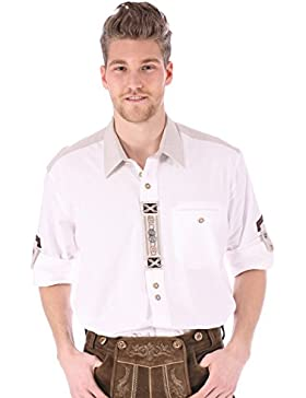 Orbis Trachtenhemd Ben weiss