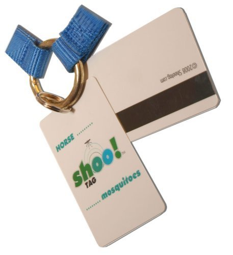 Shoo!TAG Horse Fly and Mosquito Barrier Tag, Double for 2 Horses by Shoo!TAG -