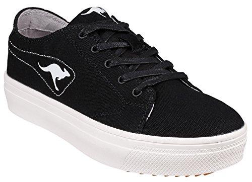 K dei canguri - Mid altopiano 5071 Ladies Sneaker Blk - 41