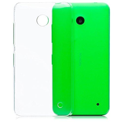 Nokia Lumia 630/635 | iCues Ultra Slim Case trasparente | in più di luce molto sottile foglio di protezione trasparente della pelle Sereno Sereno protettivo protezione Coperchio Coperchio [Screen protector Compreso] Custodia Cover Case Tasca Borsa