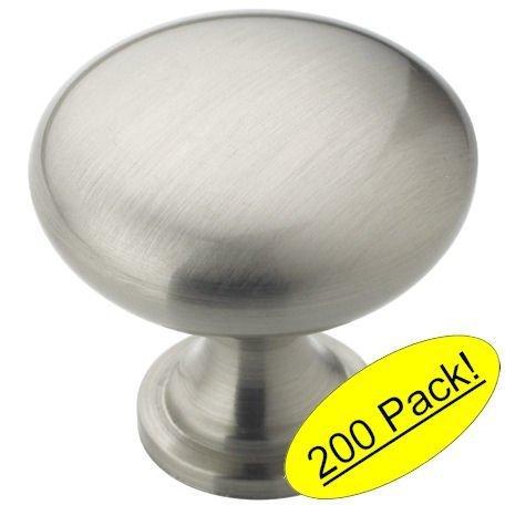 Amerock BP53005-G10 Allison Satin Nickel Round Cabinet Knob by Amerock -