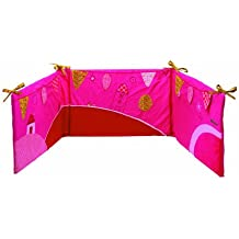 Lilliputiens Liz - almohadillas para cuna (Rosa, Imagen, 1200 x 600 mm, 1400 x 700 mm)