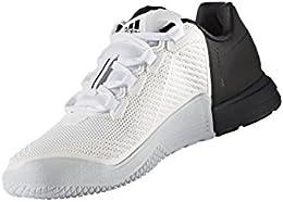 adidas Crazypower TR M, Scarpe da Ginnastica Uomo, Bianco Ftwbla/Negbas, 49