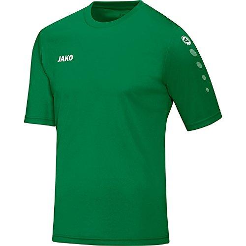 JAKO Kinder Trikot Team KA Fußballtrikots, Sportgrün, 116