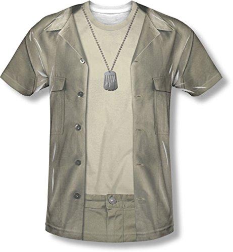 keye-Kostüm-T-Shirt, Small, White ()
