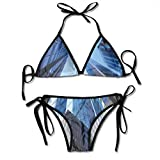 Photo de Women's Swimsuit Two Pieces Bikini Set, Looking Up at Chicagos Skyscrapers in Financial District American City Picture,Swimwear Bathing Suits par F0k2t0