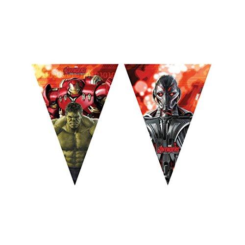 s 2,3m Avengers Age of Ultron Wimpelkette Flaggen ()