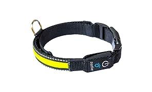 Tractive Collare per Cani a LED, Small, Giallo