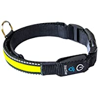 Tractive Collare per Cani a LED, Small, Giallo