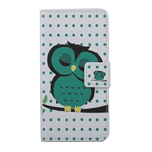 AYASHO® iPhone SE / 5s / 5 Hülle - Hohe Qualität Gemalt PU Kunst Lederhülle Tasche Hülle Kunstleder Flip Case Tasche Etui Schutzhülle für iPhone SE / iPhone 5 / iPhone 5S (A13) A22