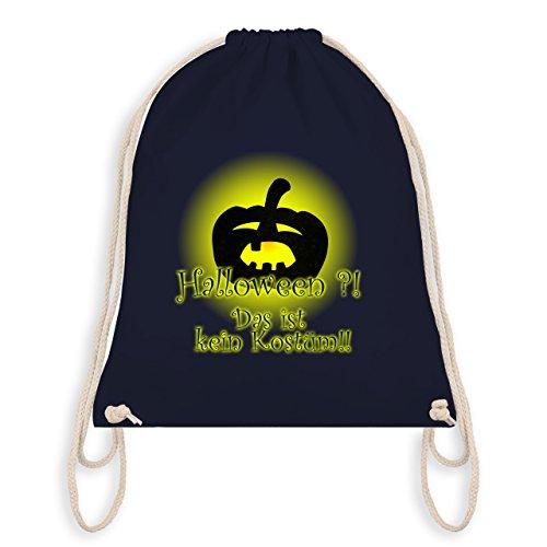 Halloween - Kein Halloweenkostüm - Unisize - Navy Blau - WM110 - Turnbeutel & Gym ()
