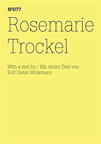 Rosemarie Trockel: (dOCUMENTA (13): 100 Notes - 100 Thoughts, 100 Notizen - 100 Gedanken # 077) (dOCUMENTA (13): 100 Notizen - 100 Gedanken 77)
