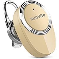 Mini Bluetooth Headset v 4.1 Sunvito Ultra piccolo invisibile Wireless