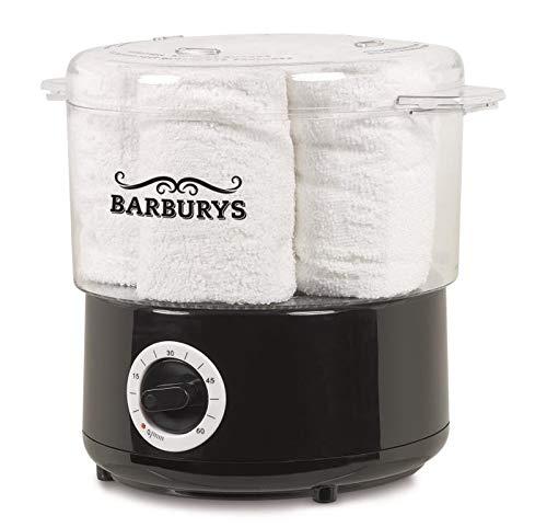 BARBURYS Heißdampfgerät für Handtücher Handtuchwärmer Kompressenwärmer Elektrischer Towel Wärmer Friseursalon Kosmetikstudio Barbershop