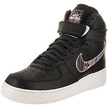 Zapatillas de baloncesto Nike Men's Air Force 1 High '07 Lv8 Black / Black Summit White 12 Zapatillas EE. UU.