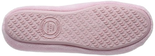 Isotoner - Terry Ballet With Spot Bow, Pantofole Donna Rosa (Rosa (Pink))